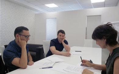 2 августа 19встреча с программистом по сайту